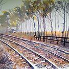 Down the Tracks by Glenn  Marshall