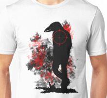 Raven Mutant Hybrid Silhouette Shirt Design Unisex T-Shirt