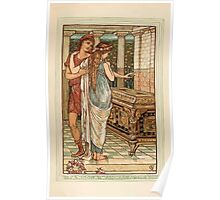 A Wonder Book for Girls and Boys by Nathaniel Hawthorne illustrated by Walter Crane 115 - Pandora Wonders at the Box Poster