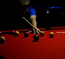 Pool table by Heather Blacklock