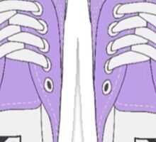 Purple Vans Sticker