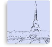 tour eiffel for paris lover :) Canvas Print