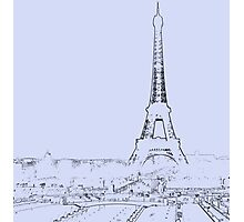 tour eiffel for paris lover :) Photographic Print