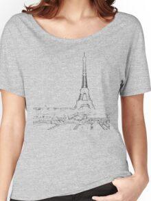tour eiffel for paris lover :) Women's Relaxed Fit T-Shirt