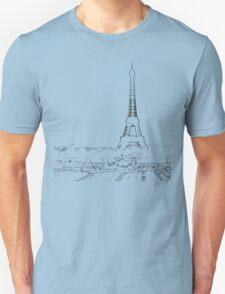 tour eiffel for paris lover :) Unisex T-Shirt