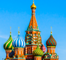 St. Basil's cathedral Sticker