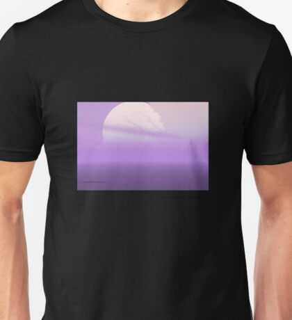 Lavender Sunset Unisex T-Shirt