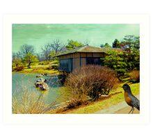 Bird + House Art Print