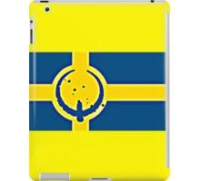 Sweden Quake iPad Case/Skin