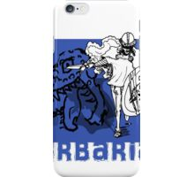 the barbarian slayer iPhone Case/Skin
