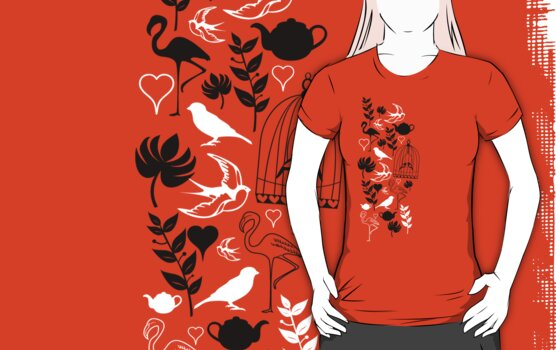 songbird tee  by teegs