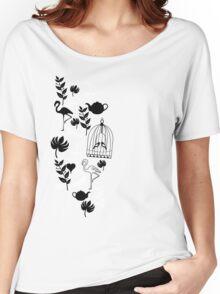 songbird tee  Women's Relaxed Fit T-Shirt