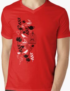 songbird tee  Mens V-Neck T-Shirt