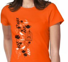 songbird tee  Womens Fitted T-Shirt