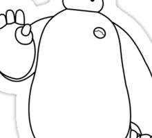 Hello. I am Baymax, your personal healthcare companion. Sticker