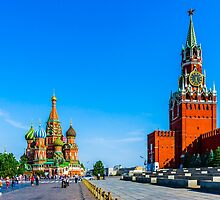Red Square of Moscow by luckypixel