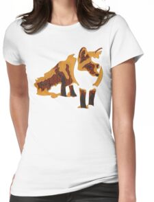 Fox Confessor. Womens Fitted T-Shirt