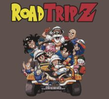 Dragonball Z Roadtrip by shadowflash11