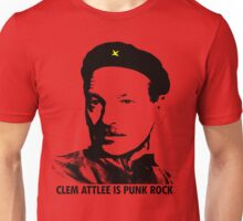 CLEM ATTLEE IS PUNK ROCK Unisex T-Shirt