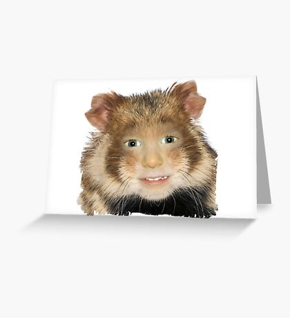 Hamster Child Greeting Card