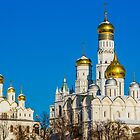 Moscow Kremlin cathedrals by luckypixel