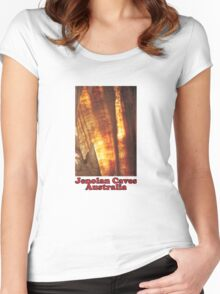 Jenolan Caves NSW Women's Fitted Scoop T-Shirt