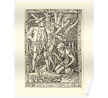 Eight illustrations to Shakespeare's Tempest by Walter Crane 1894 33 - Caliban - As I told Thee Before I am Subject to a Tyrant Poster