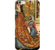 Beauty and the Beast by Walter Crane 1875 18 -  iPhone Case/Skin