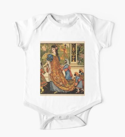 Beauty and the Beast by Walter Crane 1875 18 -  One Piece - Short Sleeve