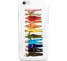 Hilary's Rainbow Pantsuits  iPhone Case/Skin