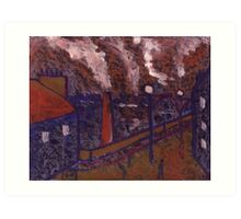Byker Bridge Art Print