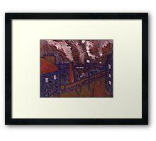 Byker Bridge Framed Print