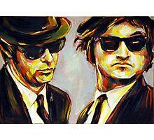 blues brothers portrait Photographic Print