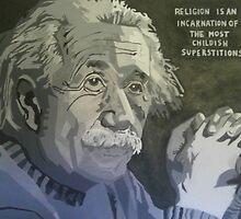 Albert Einstein  by CrossanArt