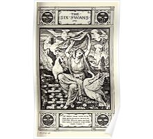 Household Storeis from the Collection of the Brothers Grimm by Lucy Crane with Illustrations by Walter Crane 1882 231 - The Six Swans Poster