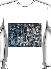 Gray Day - Subdued Abstract with Neutral Tones T-Shirt