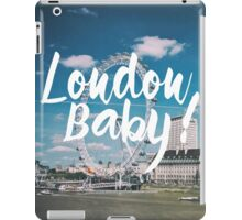 London Baby! iPad Case/Skin