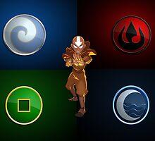 Avatar Aang by Frandom