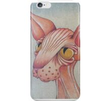 Right Side Up Sphynx iPhone Case/Skin