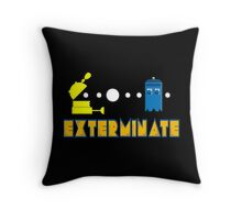 PAC DALEK Throw Pillow