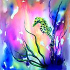 Baby Seahorse by Tezz