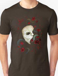 Phantom of the Opera Mask and Roses T-Shirt