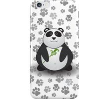 Happy as Panda iPhone Case/Skin