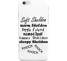 Soft Sheldon, Warm Sheldon iPhone Case/Skin