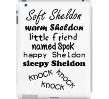 Soft Sheldon, Warm Sheldon iPad Case/Skin