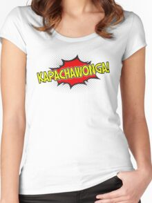 kapachawonga! Women's Fitted Scoop T-Shirt