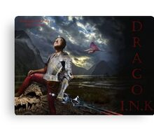 a great warrior Canvas Print