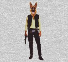 Han Solo Star Wars Dog One Piece - Long Sleeve