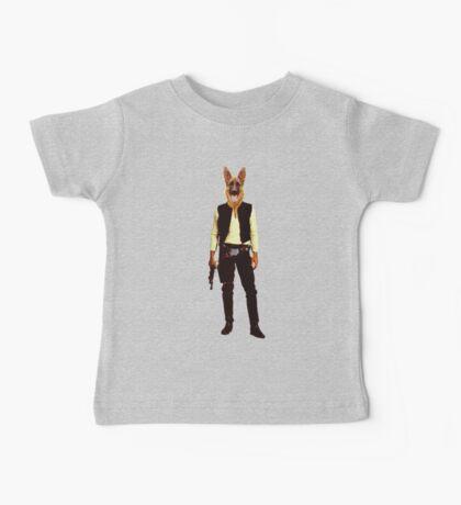 Han Solo Star Wars Dog Baby Tee