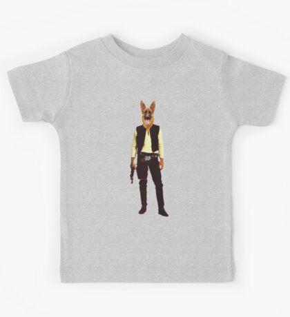 Han Solo Star Wars Dog Kids Tee